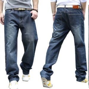 Wholesale Men′s Jogger Denim Cotton Jeans pictures & photos