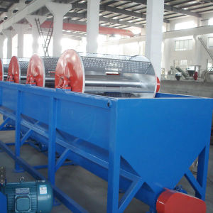 PP Film Waste Plastic Crushing Machine Washing Drying 1000kg/H Easy to Opeating