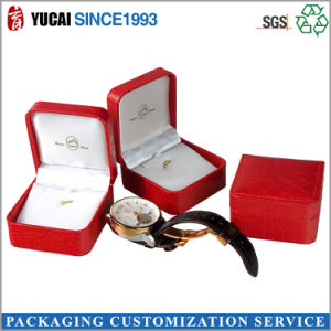 Luxury Red Jewelry Paper Boxes pictures & photos