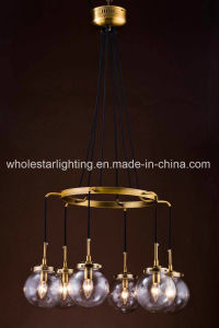 Metal Chandelier with Glass Shade (WHG-650) pictures & photos