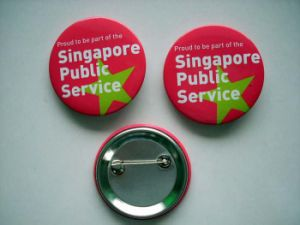OEM New Style Tinplate Badges pictures & photos