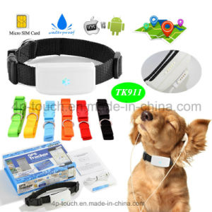 Waterproof Dog/Cat Pets GPS Tracker with Multi-Function (TK911) pictures & photos