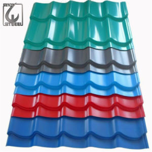 SGCC Ral Color PPGI Corrugated Steel Sheet pictures & photos