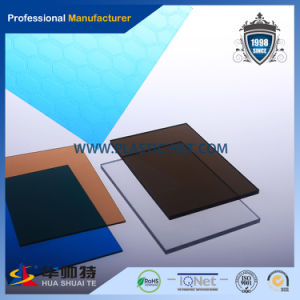 2.1X 6m 3 mm Thick Transparent Polycarbonate Solid Sheet for Sale pictures & photos
