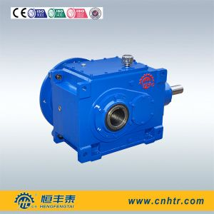 B Series Industry Flange Mounted Angle Shaft Bevel Helical Gearbox