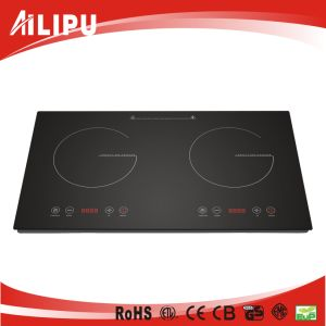 Double Burner Cookware of Home Appliance, Kitchenware, Infrared Heater, Stove, (SM-DIC08) pictures & photos