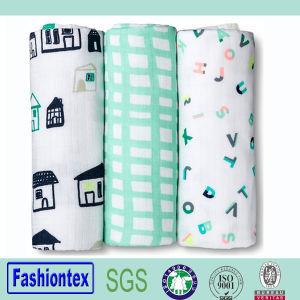 China High Quality Muslin Burp Cloth Infant Cotton Baby Wrap
