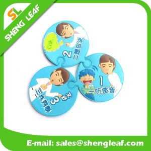Hot Sale Cheap Eco-Friendly Silicone Coaster (SLF-RC036)