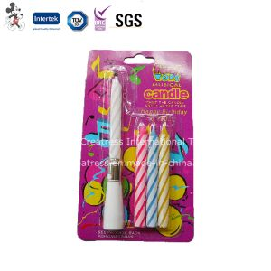 Electronic Singing Happy Birthday Taper Candle
