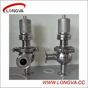 Wenzhou Stainless Steel Manual Safety Valve pictures & photos
