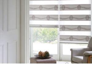China Zebra Blind Curtains Fabric