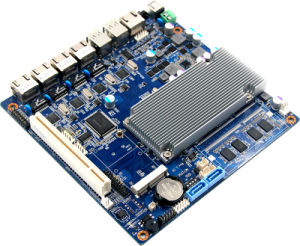 Firewall PC Router Motherboard with 4*RJ45, 8*USB pictures & photos