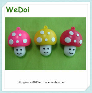 Mushroom PVC USB Memory Stick with Full Capacity (WY-PV123) pictures & photos