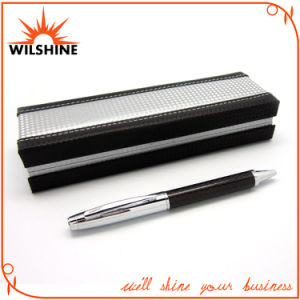 Luxury Carbon Fiber Metal Pen Set for Business Gift (BP0036) pictures & photos