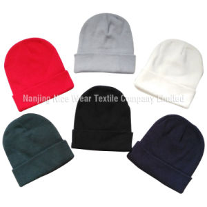 Promotion Plain Dyed Knitted Hat