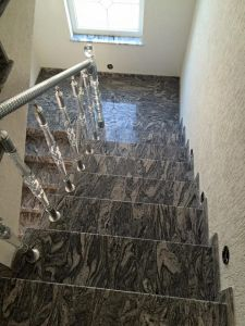 G603, G682, Blue Pearl Natural Stone Granite Stairs