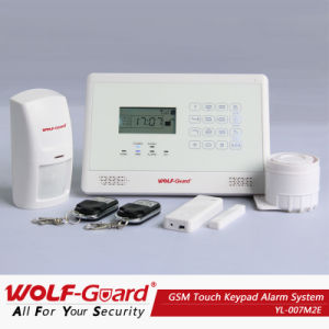 Battery Operated GSM Alarm Home Security System with Touch Keypad pictures & photos