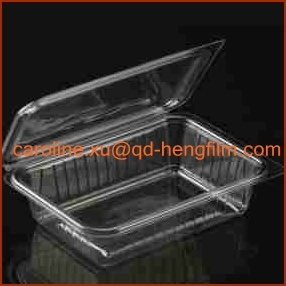 Transparent Clear Pharmaceutical Packing Food Grade Rigid PVC Film
