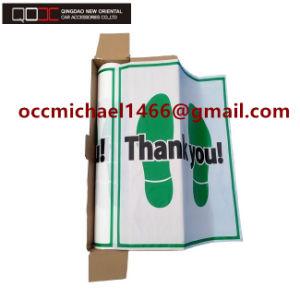 China Made In Vietnam Plastic Paper Non Slip Car Disposable Foot Mat