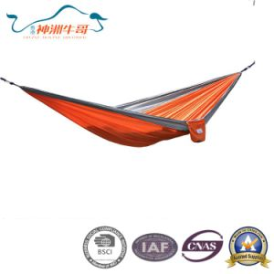 Hot Sale 210t Nylon Fabric Outdoor Hammock