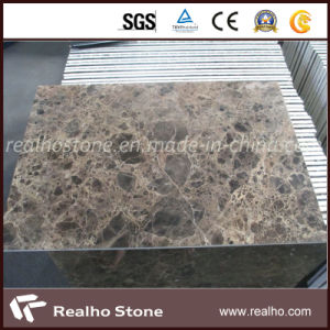 Dark Emperador Marble Composite Panel /Tile for Wall and Floor