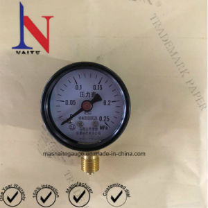 Factory Price 0.25MPa 40mm General Pressure Gauge with Bottom Entry