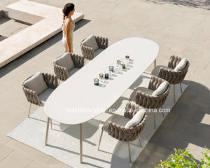 23723bb6d35f Foshan Walden Outdoor Garden Furniture Hotel Dining Set Table and Chair  Rope Furniture