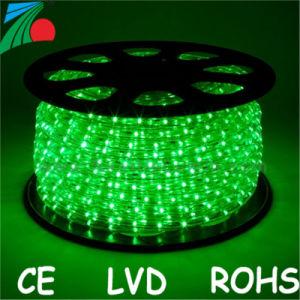 11mm 13mm 2 Wires Led Green Rope Light Outdoor 220v 110v