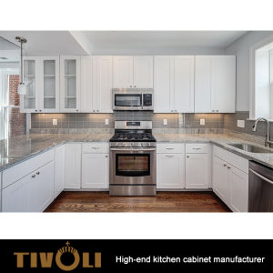 Kitchen Cabinet Set Made in China for Builders Apartment Projects TV-0122