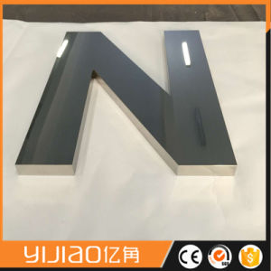 Customized Shop Mirror 304 316 Stainless Steel Fine Channel Letter Fabricated Letter pictures & photos
