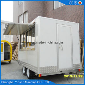 Mobile Hot Dog Cart with Sliding Glass Window pictures & photos