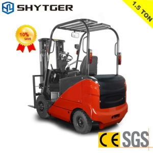 1.5-5ton Hydraulic Electric Forklift pictures & photos