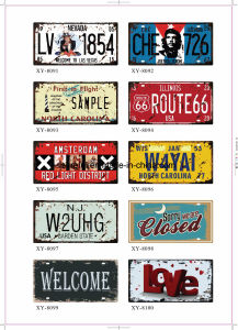 USA Style Retro Tin Sign 15*30cm Over 200 Designs pictures & photos
