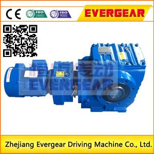 High Torque K Series Helical Bevel Foot Mounted Gear Drive Motor Reducers pictures & photos