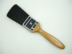 Top Quality Black Bristle Brush with Wooden Handle pictures & photos