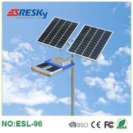 High Power 96W Solar LED Street Light Outdoor Highway Lighting with Ce FCC