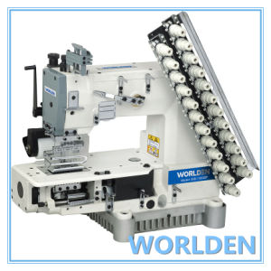 Wd-008 Multi Needle Cylinder Bed Double Chain Stitch Machine pictures & photos