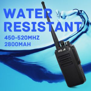 10W Long Range Military Waterproof IP67 VHF UHF Talkie Walkie