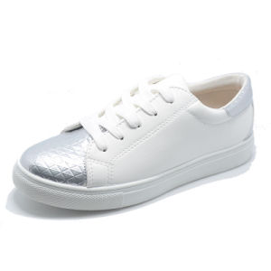 PU Embossing Fation Basic Classical Leisure Women Men Rubber Shoes pictures & photos
