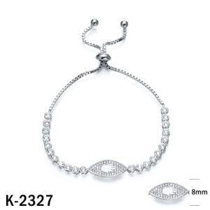 Cubic Zirconia Sterling Silver Heart CZ Bracelets pictures & photos