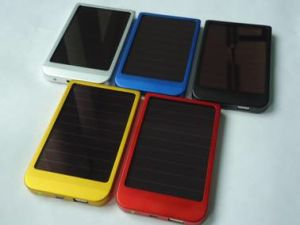 Solar Charger Sp-2600 with 2600mAh Li-Pol Power Bank