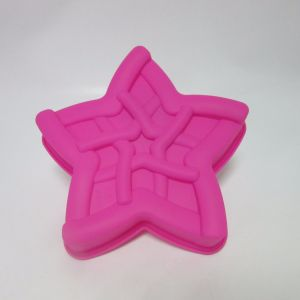 Silicone Backform Star Cake Mould pictures & photos