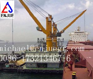 Fully Hydraulic Elbow-Knuckle Boom Marine Deck Crane Offshore Crane pictures & photos