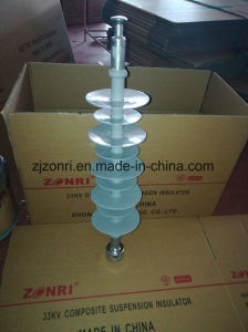 High Voltage Composite Suspension Insulator Fxbw-35/100 for Power Transmission Tower pictures & photos