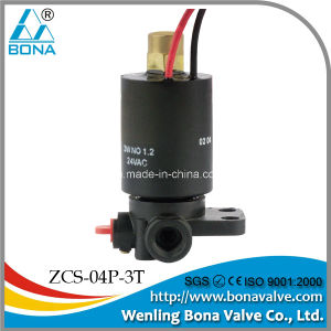 Bona Mini 3 Way Irrigation Solenoid Valve (ZCS-04P-3T) pictures & photos