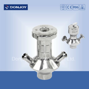 Stainless Steel Sampling Valve with Handle Wheel pictures & photos