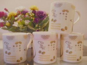 New Design 14 Oz Big Capacity of Ceramic Milk Mugs pictures & photos