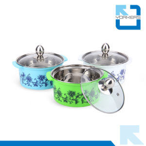 Colourful Stainless Steel Hotpot Casserole Set Chinese Mini Hot Pot pictures & photos