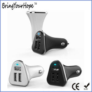 5.2A Three Ports USB Car Charger (XH-UC-031) pictures & photos