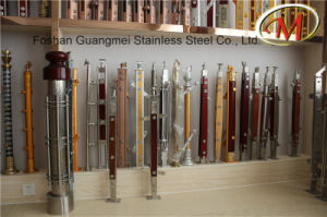 Sanding Surface Finish Stainless Steel Railing Pillar (GM-B140 / GM-B262 / GM-B261) pictures & photos
